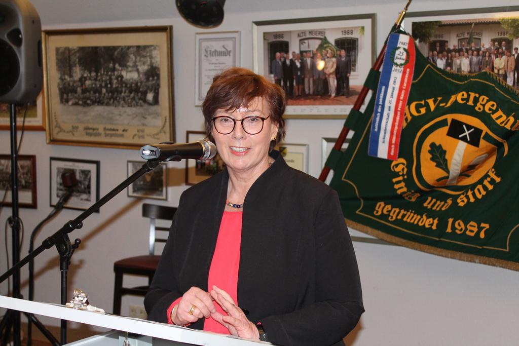 msü HGV Bergenhusen (2): Sabine Sütterlin-Waack, Ministerin für Justiz, Europa, Verbraucherschutz und Gleichstellung des Landes Schleswig-Holstein.