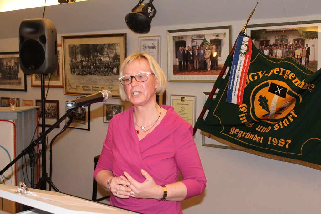 msü HGV Bergenhusen (3): Petra Nicolaisen, CDU, MdB für den Wahlkreis Schleswig Flensburg