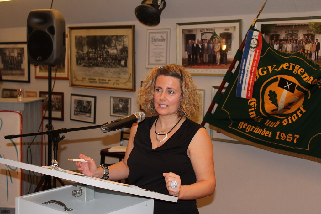 msü HGV Bergenhusen (4): Tanja Thiesen Vorsitzende Heimatverein Bergenhusen